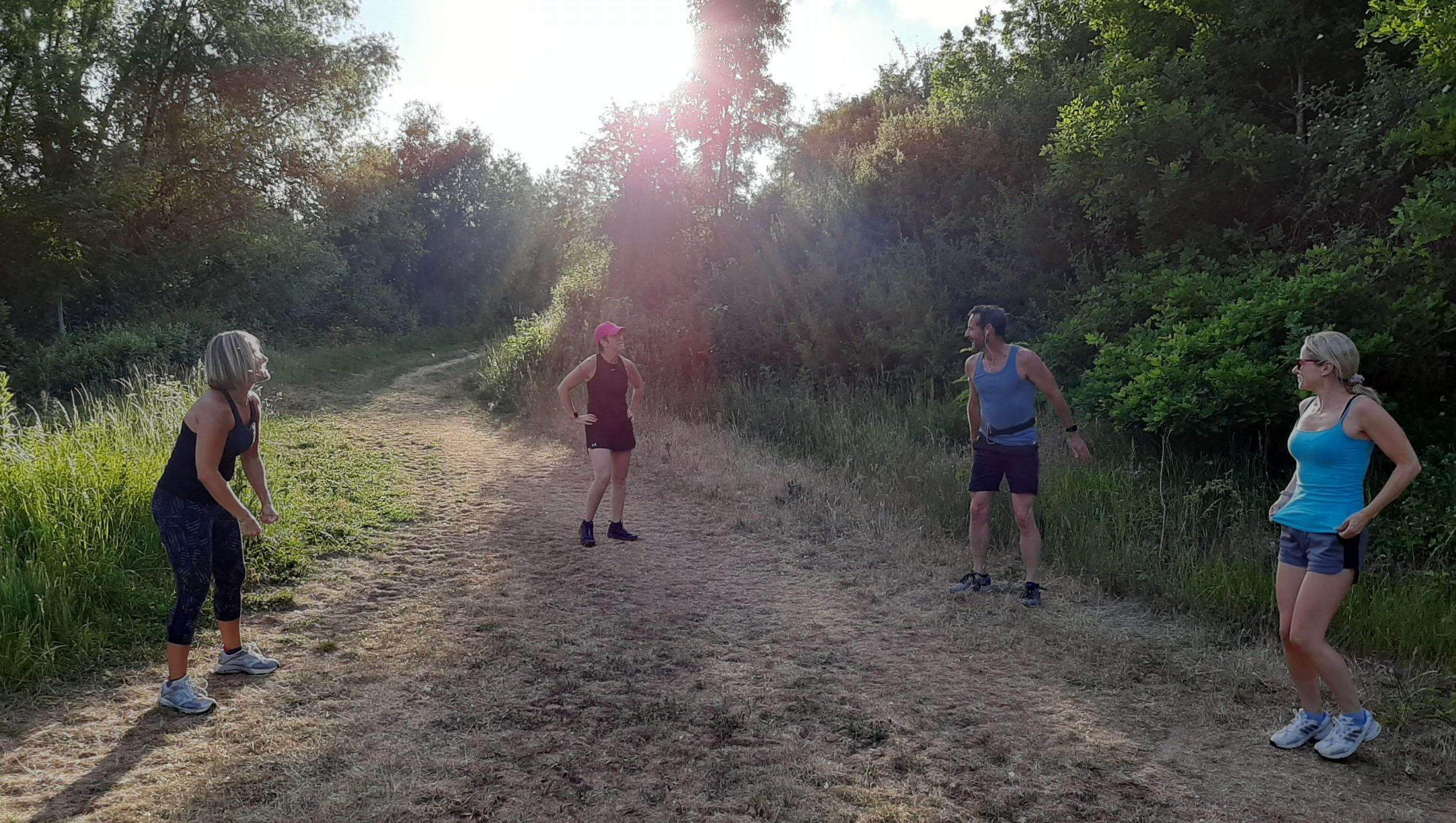 Outdoor bootcamp session with PMF Military Fitness